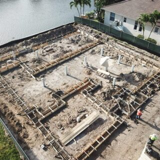 The start of something good. #newhome #waterfront #waterfronthomes #marcoisland #custombuilder #interiordesign #luxuryhomebuilder #beautifulhomes #homedecor #instaluxe #instadesign #naples #luxurylifestyle #homedesign #naplesflorida #design #build #remodel #luxuryhome #newconstruction #coastalliving #braunbuilders #dreamhouse